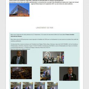 France Arménie International Réseau